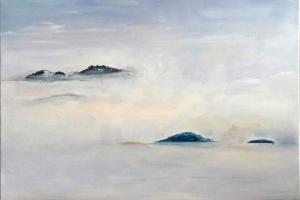 Atterrissage dans les nuages