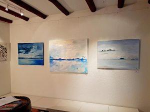 Exposition Bleus d'Horizons, À Terres de Lavaux, Lutry
